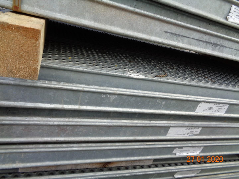 Stahlboden 3,00 x 0,32 m Stahlbohle Ger/üstbohle Plettac SL70 SL110 Ger/üst Bauger/üst